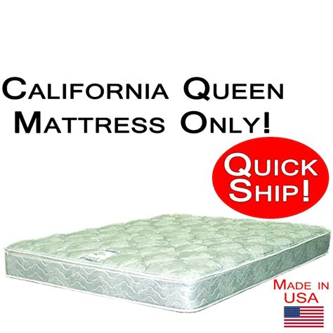 california queen bed california queen size abe feller 174 mattress only good