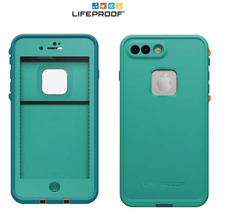 lifeproof fre waterproof for iphone 8 plus 7 plus sunset bay light teal new 692760517982 ebay