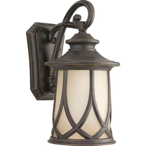 Outdoor Lighting Copper Shop Progress Lighting Resort 15 87 In H Aged Copper Outdoor Wall Light At Lowes