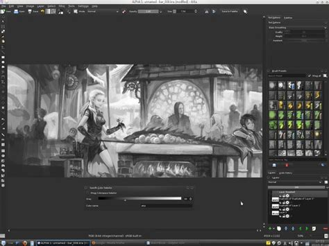 paint tool sai resize selection tips for working with values in krita david revoy