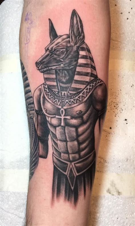 body tattoo egypt anubis egyptian god tattoo on my inner right forearm