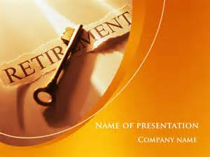 retirement pension plan presentation template for