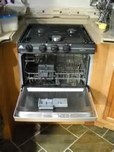 Kitchen Organization Ideas Small Spaces rv mods stove oven to dishwasher conversion re purpose