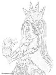monster high sweet screams coloring pages abbey bominable coloring pages monster high