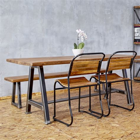 a frame bench reclaimed a frame bench heyl interiors