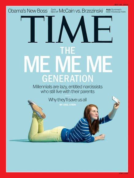 Me Me Me Signed - millennials the me me me generation time com