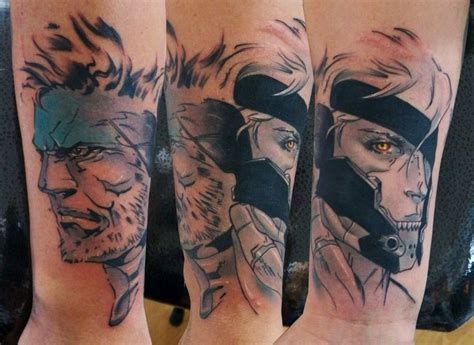 metal gear solid tattoo 26 best tattos by maxi images on tattos