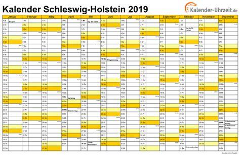 Kalender 2018 Mit Feiertagen Schleswig Holstein Feiertage 2019 Schleswig Holstein Kalender