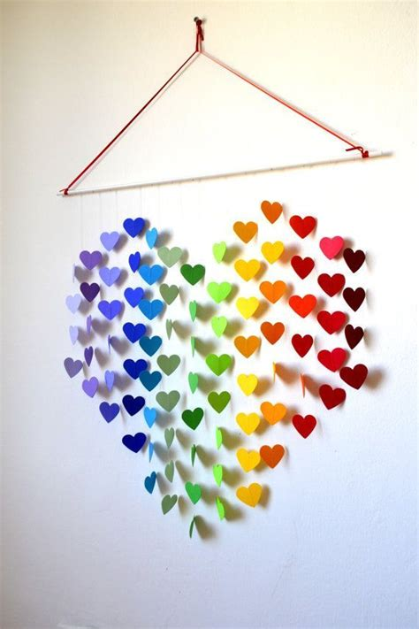 Wall Hanging Paper Craft - room decor