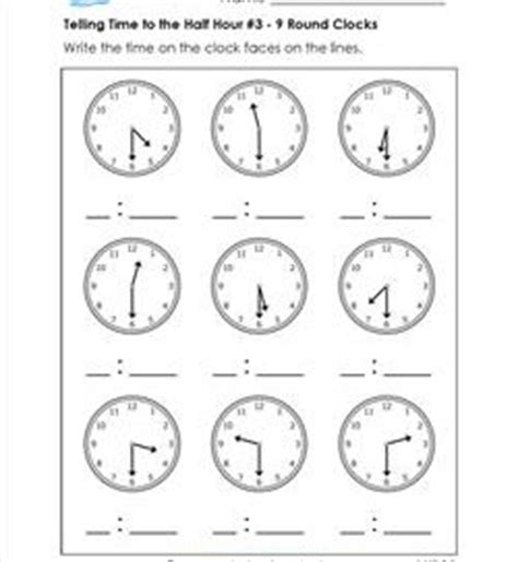 clock worksheets hour and half hour first grade archives page 5 of 20 a wellspring of