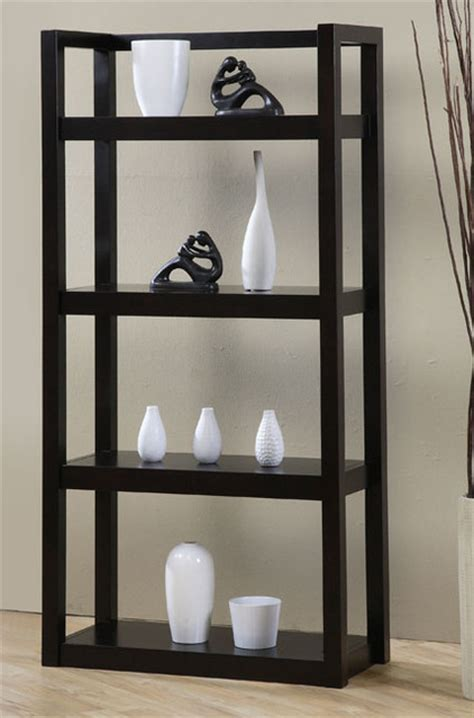 open shelf bookcase contemporary bookcases by