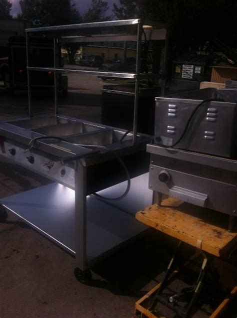 used steam table used steam tables one frog