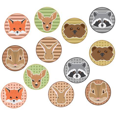printable woodland animal masks woodlands animals printable masks