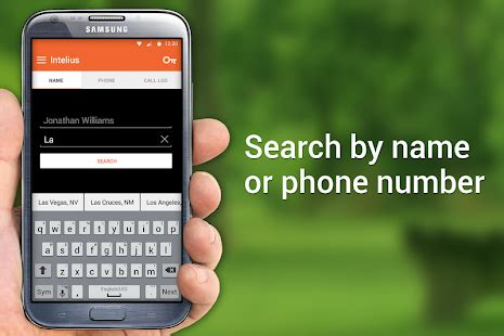 Intelius Phone Lookup Review Intelius Background Check Caller Id Phone Lookup Free Android App Market