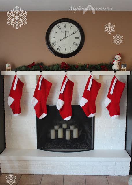 pattern for giant christmas stocking mapleseeds home pattern giant knitted christmas stocking