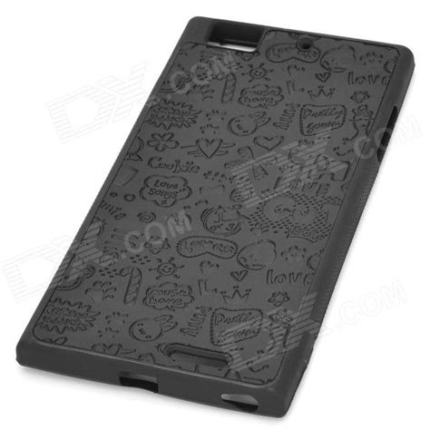 Laptop Lenovo K900 pattern protective plastic back for lenovo k900 black free shipping