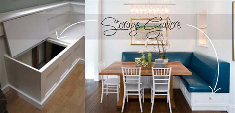storage banquette dimensions of kitchen banquette joy studio design
