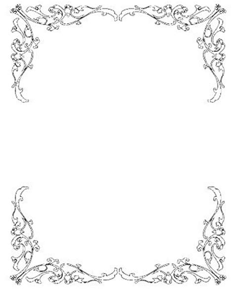 Wedding invitation clip art borders free wedding clipart borders