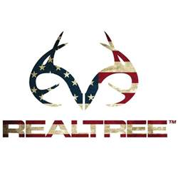 Camo Window Blinds - realtree outfitters patriotic decal small