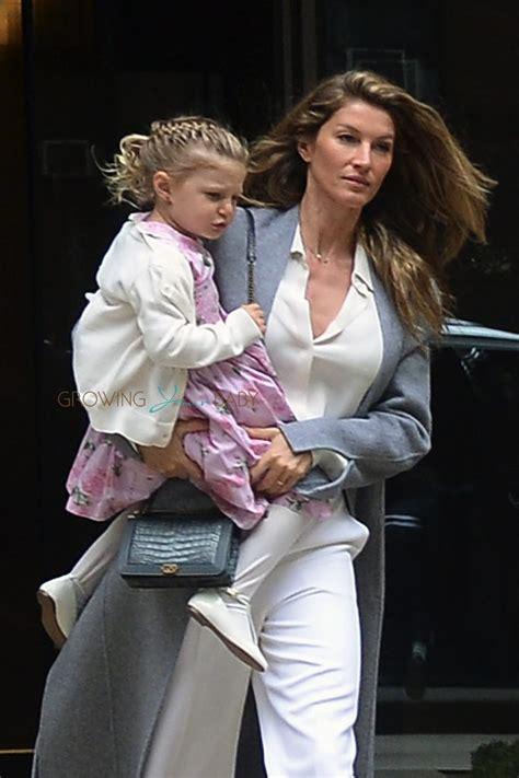 Gisele Bundchen leaving the Church of St. Thomas in NYC with daughter Vivian   Growing Your Baby