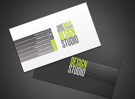 business card studio 30 fresh collection of free business card photoshop psd templates