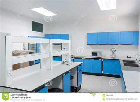 design lab delaware science modern lab interior architecture stock photo