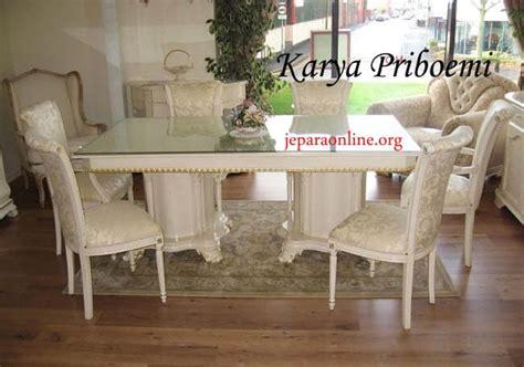 Meja Makan Anyaman set meja makan minimalis anyaman kursi jok yang kami