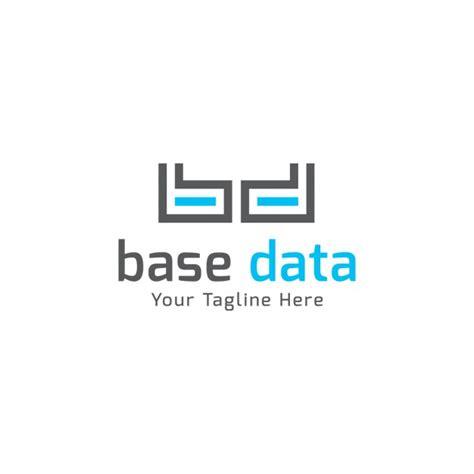 data pattern logo base data logo template vector free download