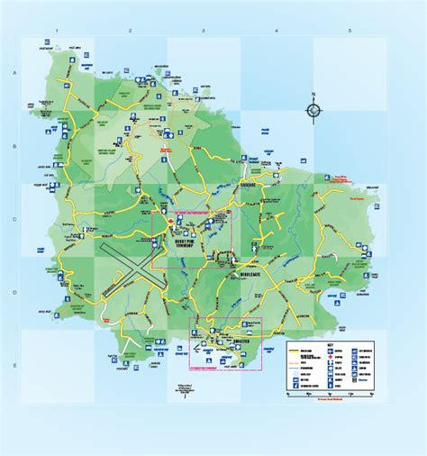 norfolk island map norfolk island map