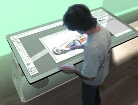 digital board table multi function design table digital design board