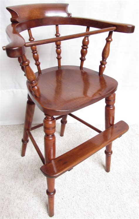antique high chairs antique childs high chair la34396