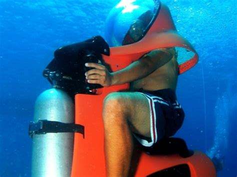 water scooter mexico cozumel mini submarine under water scooter excursion