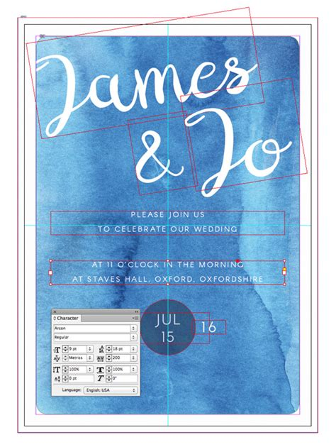 wedding font indesign how to create a watercolor wedding invitation in adobe
