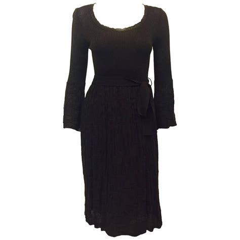 Bell Sleeve Wool Blend Knit Top missoni ribbed knit tank dress at 1stdibs