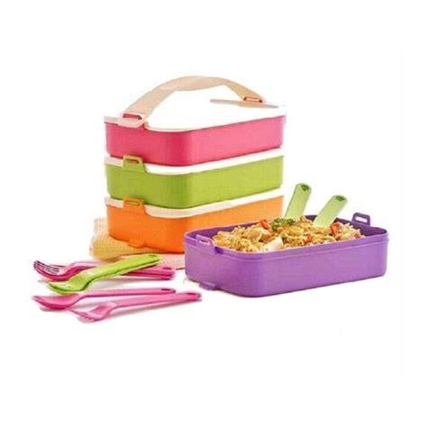 Nzf Tupperware Clik To Go jual tupperware click to go set tempat makan