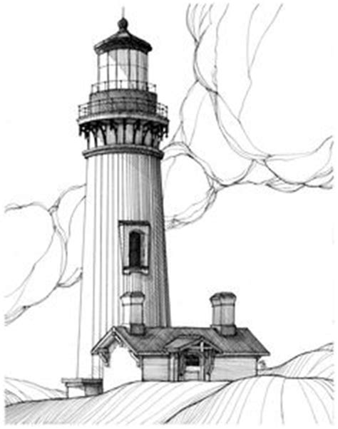 coloring book oregon coast images outline of a lighthouse lighthouse coloring page