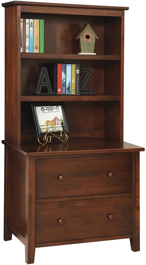 lateral file cabinet with hutch manhattan lateral file cabinet with hutch amish