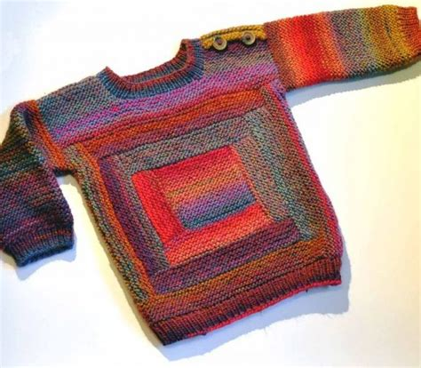 simple baby sweater to knit easy on pullovers for babies and children knitting