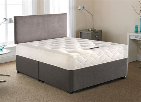 divan beds silentnight radley open divan bed firm dreams