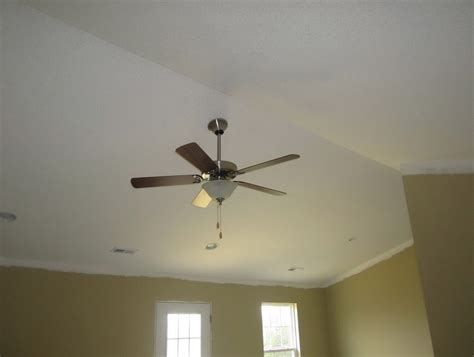 vaulted ceiling fan box cathedral ceiling fan mounting box home design ideas