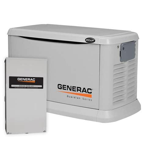 generac 6244 generac guardian 20kw standby generator