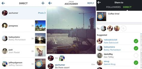 tutorial instagram direct message instagram direct you can now send photos and messages to