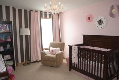 pink and brown nursery ideas our baby girl s pink and brown nursery