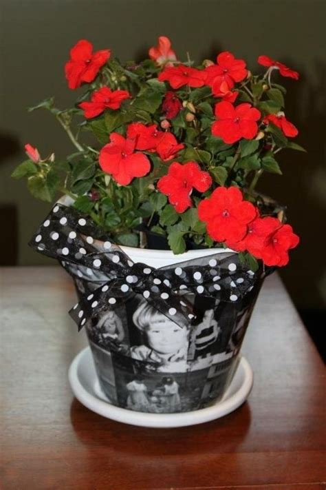 modge podge simple gift  images mothers day flower pot diy mothers day gifts mothers