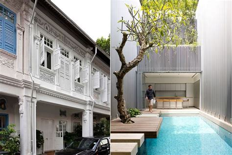 classic heritage residence architecture design architecture and design 55 blair road in singapore