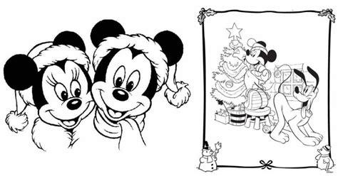 dibujos navideños para colorear disney 10 dibujos disney de navidad para colorear