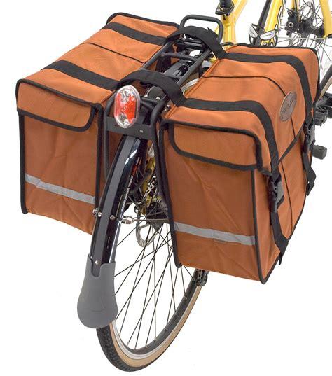 stylish new axiom bicycle commuter pannier bags bikerumor