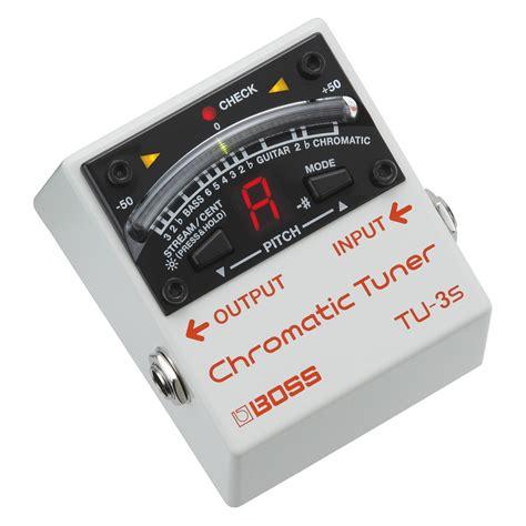 Chromatic Tuner tu 3s chromatic tuner at gear4music