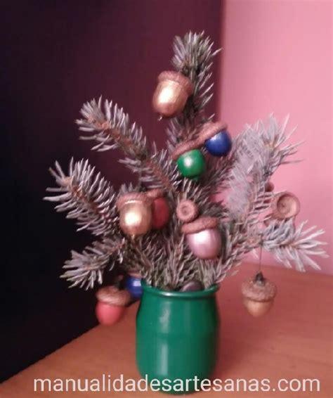 193 rbol de navidad de mesa con bolas navide 241 as de bellotas