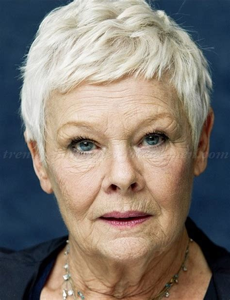 how to cut judi dench hair short hairstyles over 50 judi dench short pixie haircut